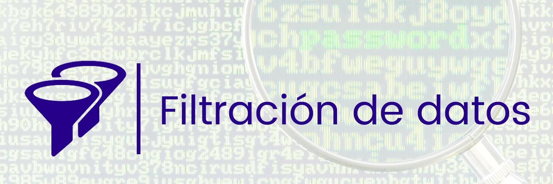 ciberseguridad, filtración de datos, datos, robo de datos, hacker